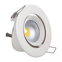 Светильник светодиодный Biom DL-7W-R-COB Downlight круглый белый