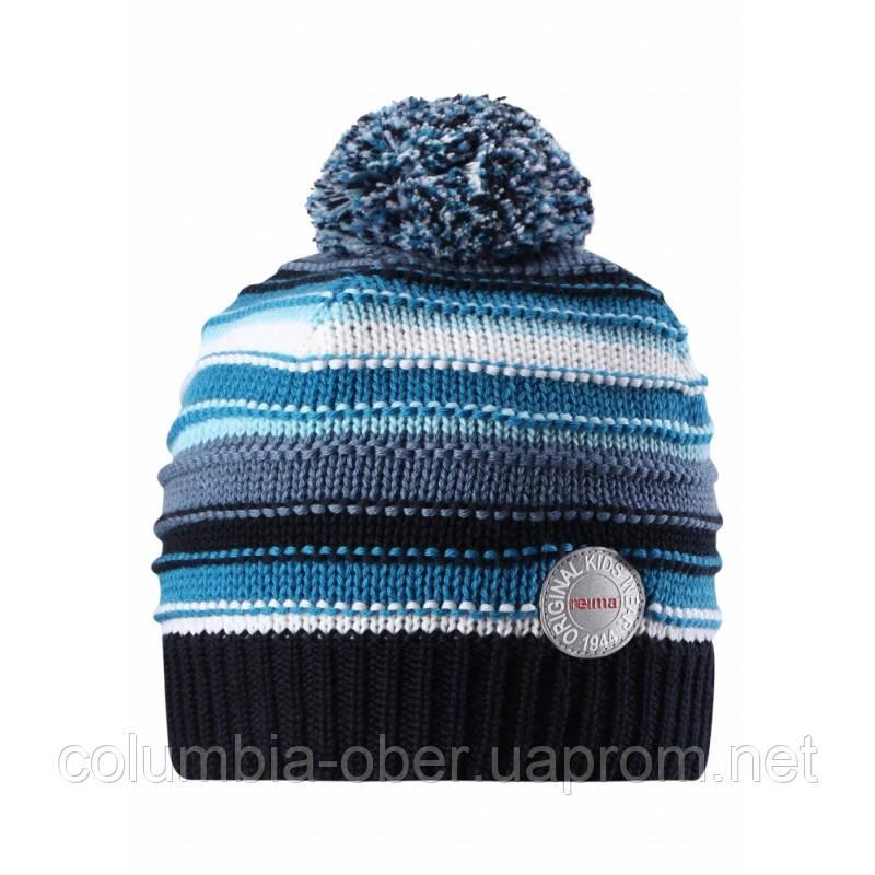 Зимняя шапка для мальчика Reima 528553-6740. Размер 50.