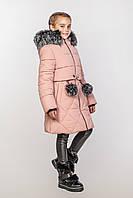Куртка зимняя для девочки 128-134