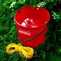 Ведро ADRENALIN складное походное Waterbag R (красн., 6,5л)