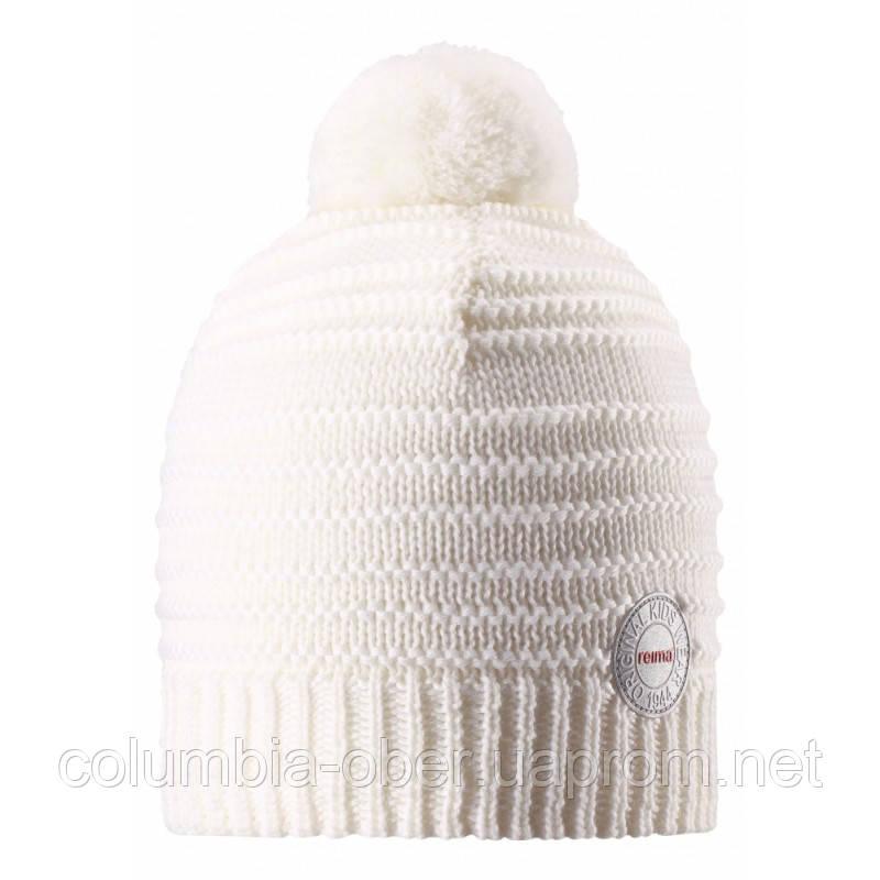 Зимняя шапка для девочки Reima 528553-0100. Размеры 50 - 56.