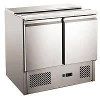Стол холодильный Саладетта - 2х дверный, с откидной крышкой, 232804 Hendi