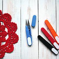 Ножницы для шитья, синие