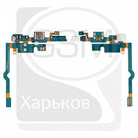 Шлейф для LG P760 Optimus L9, P765 Optimus L9, P768 Optimus L9, коннектора зарядки, микрофона