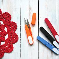 Ножницы для шитья, оранжевые