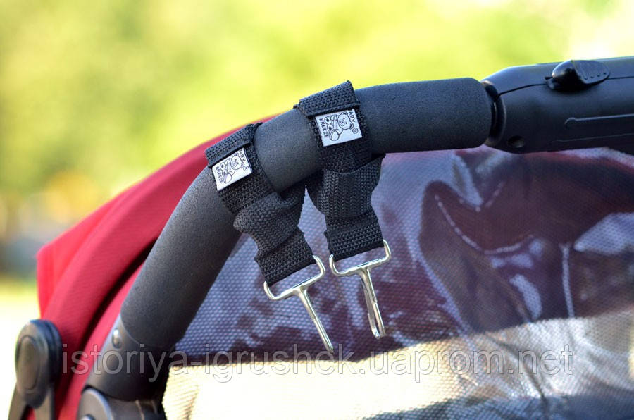 Крепление для сумки на коляску 0361