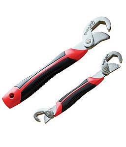 Набор Универсальных Самозажимных ключей для болтов и гаек разных размеров Snap n Grip