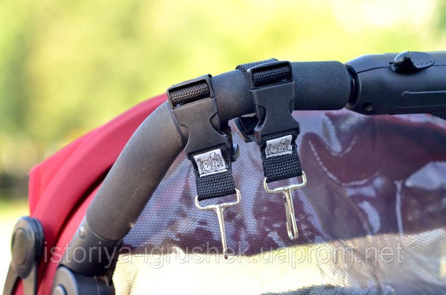 Крепление для сумки на коляску 0364