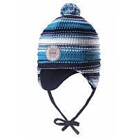 Зимняя шапка для мальчика Reima 518437-8860. Размеры 46 и 48.