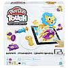 Интерактивный набор с пластилином Hasbro Play-Doh Создай мир: Причёски B9018