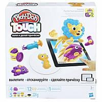 Интерактивный набор с пластилином Hasbro Play-Doh Создай мир: Причёски B9018, фото 1