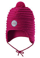 Зимняя шапка для девочки Reima Kumpu 518437-356A. Размеры 46 - 52. , фото 1