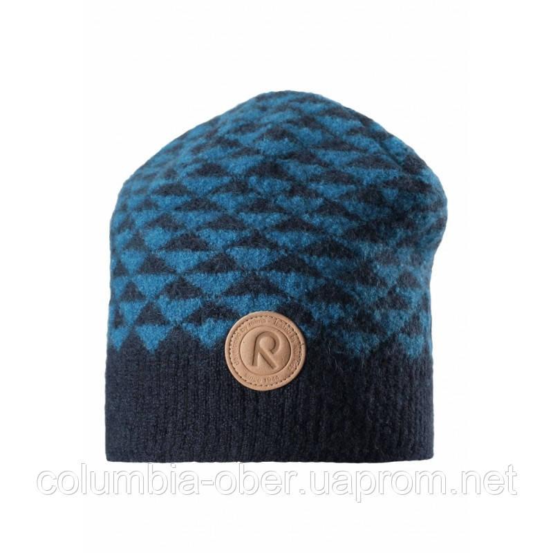 Зимняя шапка для мальчика Reima Kaamos 528557-6740. Размеры 50 - 56.
