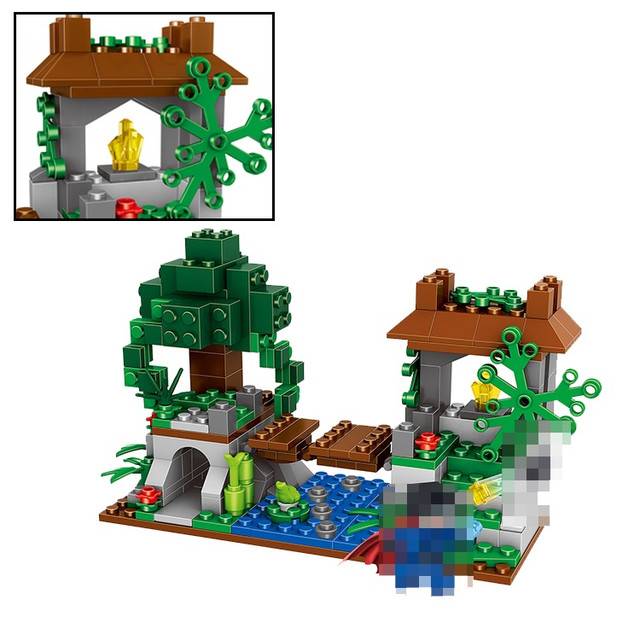 Конструктор Minecraft Lele 33055