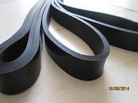 Резиновая петля черная (лента сопротивления для подтягивания) XS (нагрузка 6-31 кг)