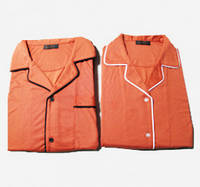 Мужская антибактериальная пижама из бамбука с медной нитью