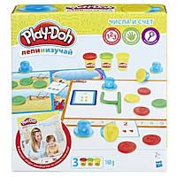 Игровой набор пластилина Hasbro Play-Doh Числа и счет B3406 , фото 1