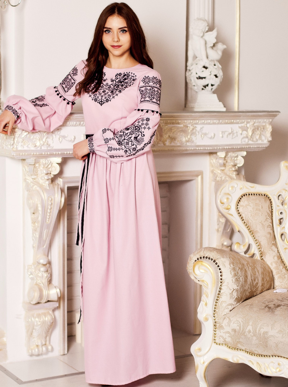 Вишите плаття Вечірнє (машинна вишивка 8b6d1726707cc