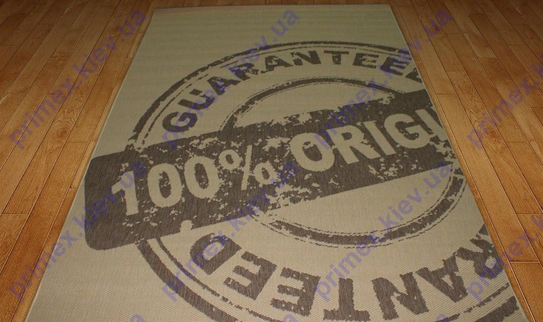 """Коврик - рогожка Сизаль """"100% оригинал"""" цвет-натуральный коричневый."""