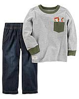 Детский костюмчик - реглан и джинсы Carters Картерс для мальчика