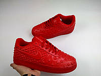 Кроссовки Nike Air Force  red  replica AAA