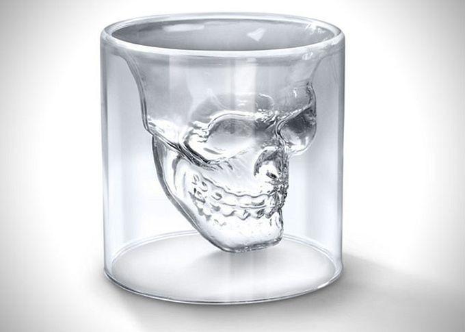Стакан чашка- череп