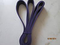 Резиновая петля фиолетовая (лента сопротивления для подтягиваний), М (нагрузка 15-45 кг)