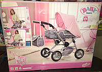 Коляска для куклы Беби Борн Делюкс 3 в 1 Baby Born Deluxe PramZapf Creation 821343