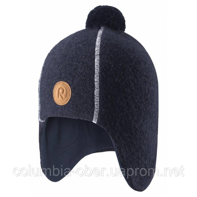 Зимняя шапка для мальчика Reima Reipas 528558-6980. Размеры 50 и 52.