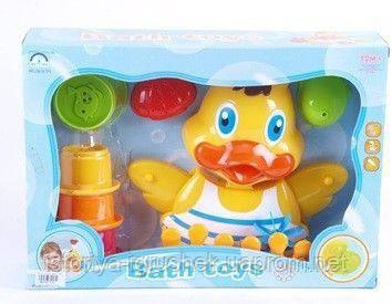 Игрушка для купания для ванной уточка 8823
