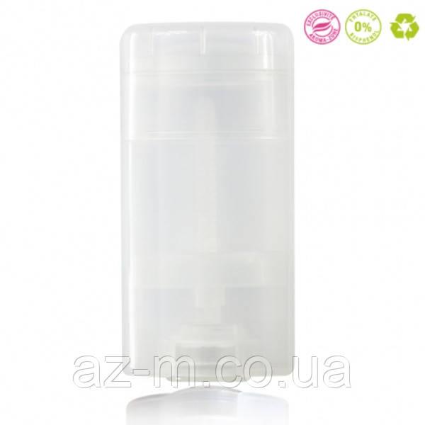 Туба для дезодоранта (прозрачная), 50 мл