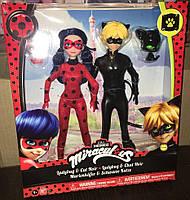 Набор кукол Леди Баг Ледибаг и Супер Кот Miraculous Ladybug and Cat Noir Blue and Blonde
