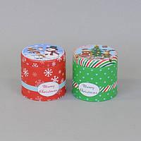 Коробка для печенья и конфет (8*8 см) металл