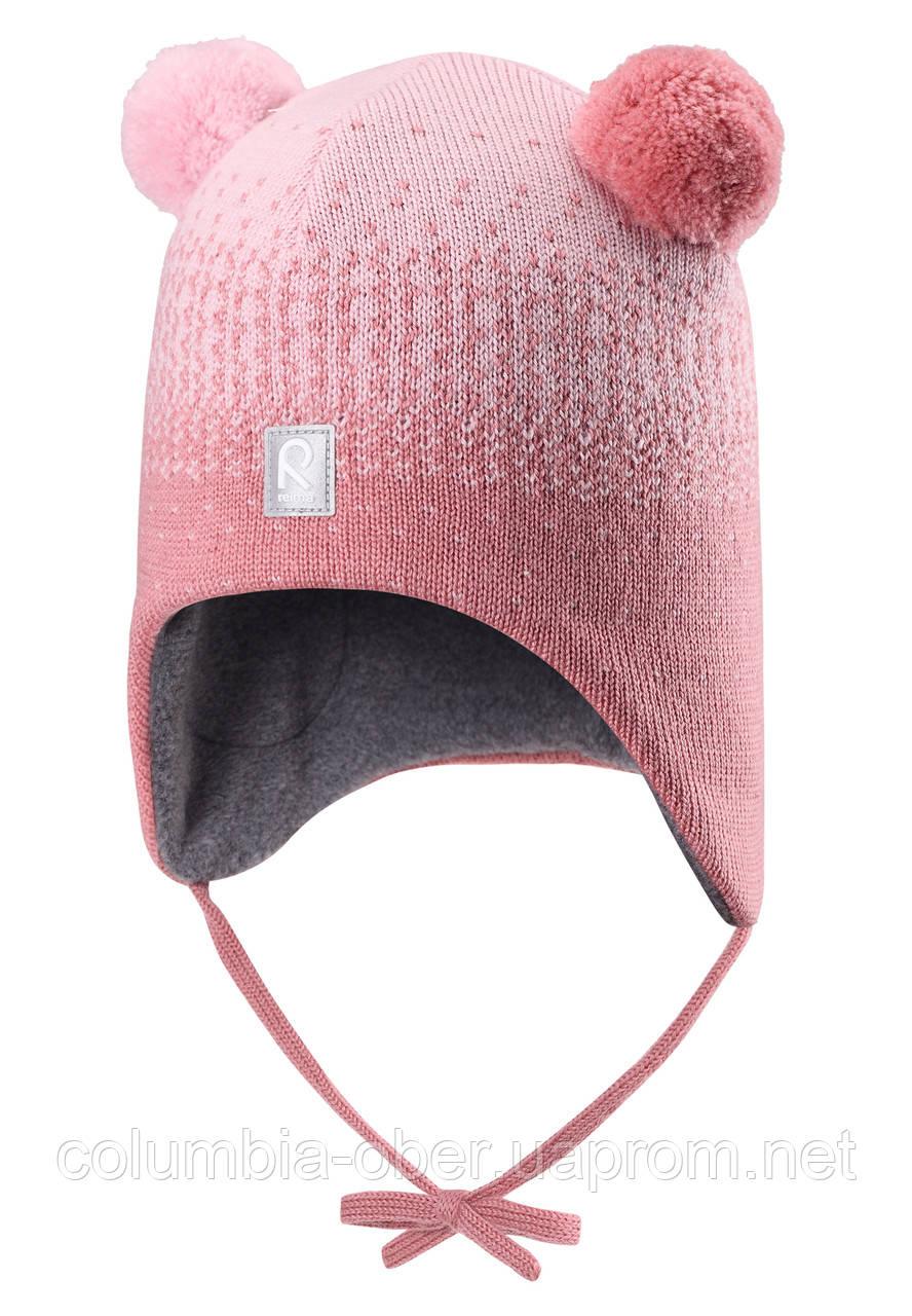 Зимняя шапка для девочки Reima Sammal 518426-4320. Размеры 46 и 48.