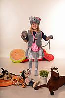 Детский карнавальный костюм Мышка-девочка