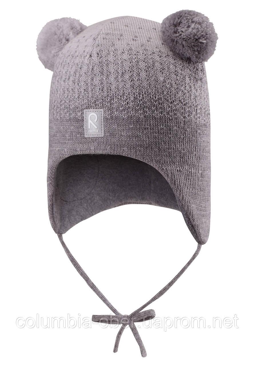 Зимняя шапка для девочки Reima Sammal 518426-9400. Размер 46.