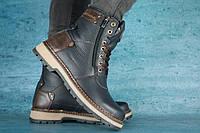 Мужские зимние ботинки Zangak Exclusive Синий 10552