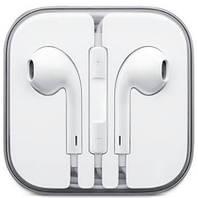 Наушники гарнитура для iPhone 4 4S 5 5S SE 6 6S Plus качество 1 в 1 как оригинал