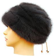 Норковая шапка женская,Жасмин (ирис)