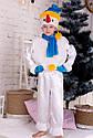 Новогодний детский костюм снеговика Размер 104-122, фото 3