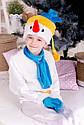 Новогодний детский костюм снеговика Размер 104-122, фото 4