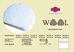 Наматрацник  чохол Wool 160*190