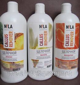 Лужний калус (пілінг) для педикюру Nila remover 1 літр