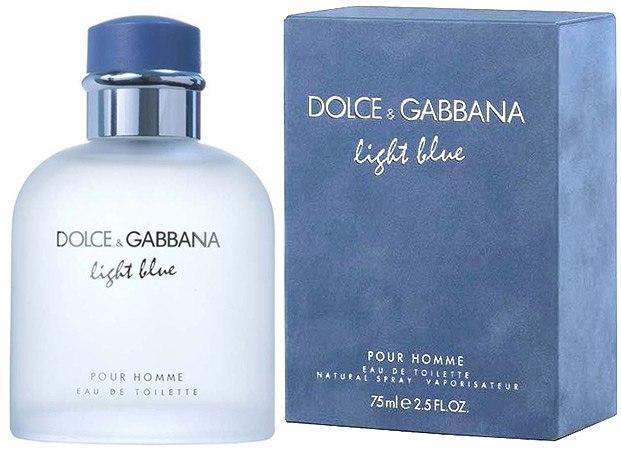 Мужская парфюмерия Dolce & Gabbana Light Blue Pour Homme (Дольче Габанна Лайт Блю) EDT 125 ml