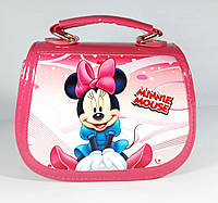 "Сумочка для девочки "" Minnie Mouse"" лаковая малиновая"