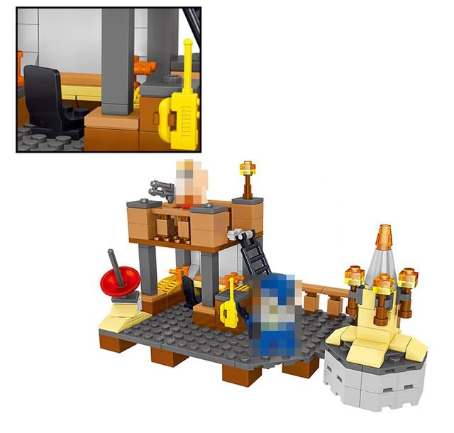 Конструктор Minecraft Lele 33056