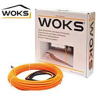 Двухжильный нагревательный кабель Woks-17 190W (12,5м)