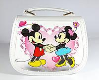 "Сумочка для девочки ""Minnie Mouse"" лаковая"
