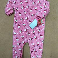 Пижама человечек слип с Санта Клаусами Early Days Ptimark 3-6 мес