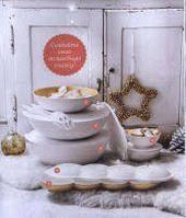 Набор Аллегро Tupperware в бело-золотом цвете.Создаст сияющую атмосферу за столом!